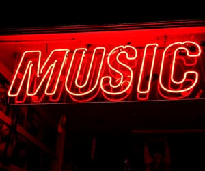 music and neon image