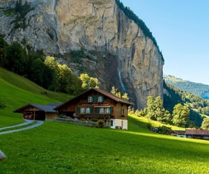 architecture, cabin, and chalet image