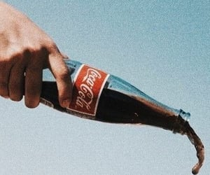 coca cola, vintage, and drink image