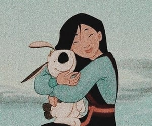 disney, cartoon, and mulan image