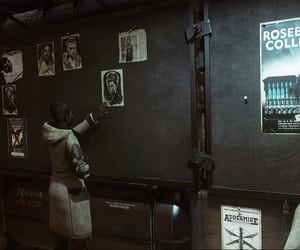 board, poster, and dishonored image