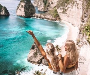 blonde, girls, and indonesia image