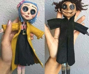 coraline, dolls, and movie image