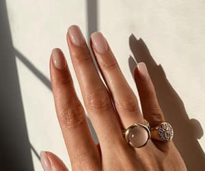 nails, jewelry, and rings image