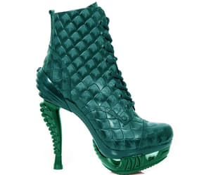 boots, dragon scale, and fantasy image