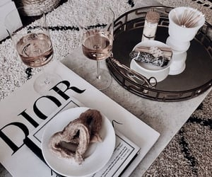 dior, food, and drink image