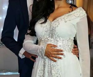 dress, mariage, and caftan image