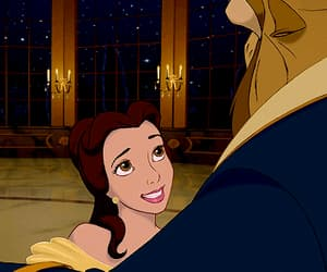 beauty and the beast, disney, and gif image