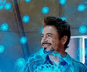 Avengers, blue, and gif image