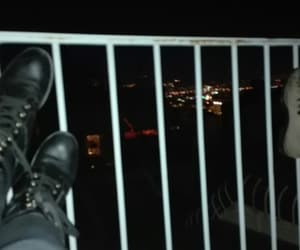 cool, boots, and night image