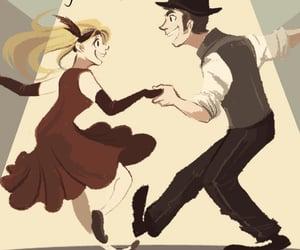 anime, dance, and swing image