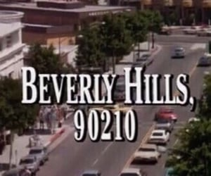 Beverly Hills, vintage, and 90210 image