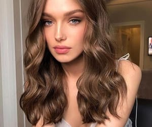 hair, hair color, and hairstyle image