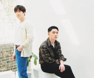 exo, d.o., and suho image