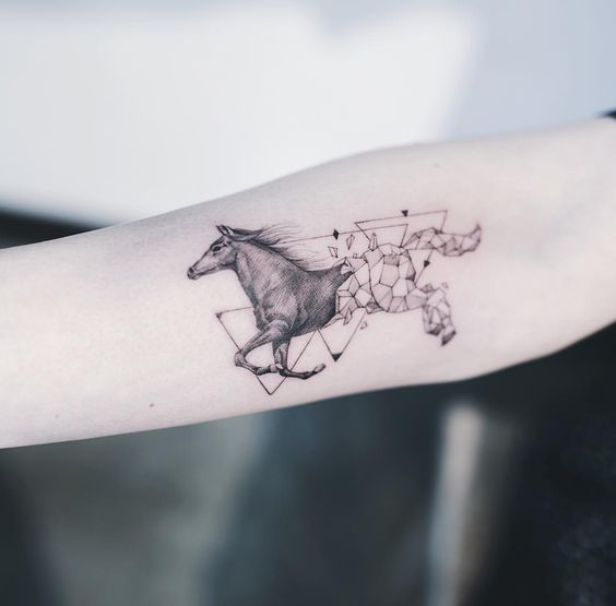 Tattoo Ideas For Horse Lovers On We Heart It