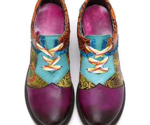 boho, handpainted, and womensshoes image