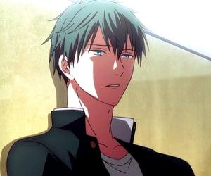 anime, band, and blue eyes image