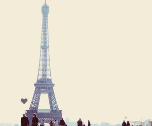 paris, love, and eiffel tower image