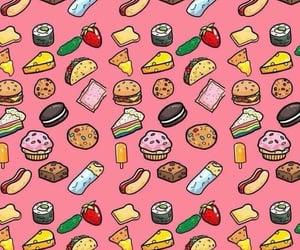 food, wallpaper, and burger image