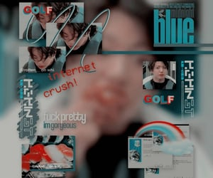 aesthetic, blue, and complex image