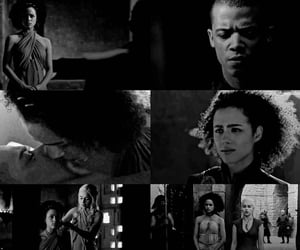 game of thrones, nathalie emmanuel, and greyworm image
