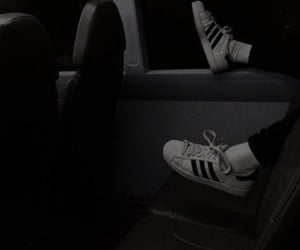 adidas, grunge, and black image