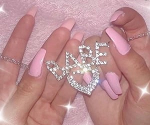 pink, aesthetic, and babe image