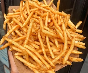 fast food, food, and fries image