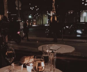 paris, restaurant, and dinner image