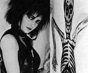 b&w, siouxsie sioux, and post punk image