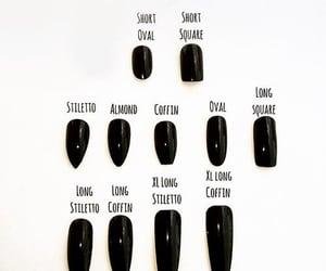 gothic and nail shapes image