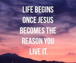 jesus, life, and god image