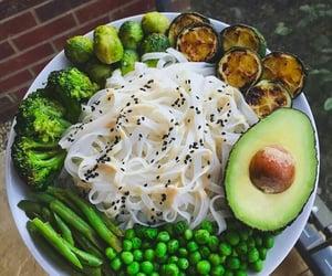 avocado, green, and peas image