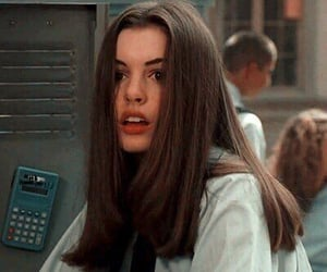Anne Hathaway, 90s, and vintage image