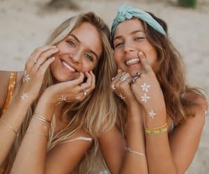 blonde, boho, and girls image