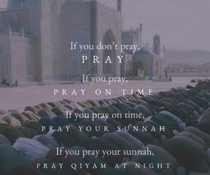 pray, prayers, and salah image