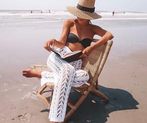 beach, fun, and sun image