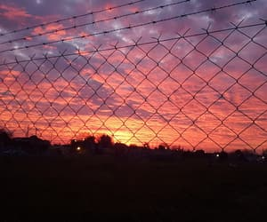 cielo, sunset, and atardecer image