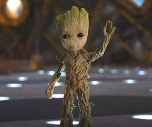 groot, guardians of the galaxy, and i ama groot image