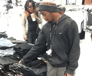 funny, gif, and shopping image