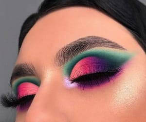 beauty, makeup, and art image