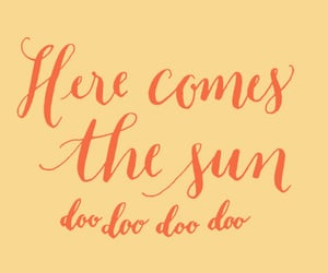 sun, the beatles, and quotes image