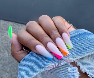 beauty, makeup, and nails image