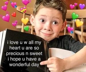 meme, love, and precious image