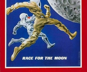 1950s, space race, and 1960s image