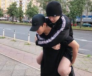stray kids, bang chan, and seo changbin image