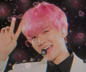 exo, kpop, and pink image