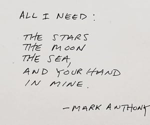 quotes, words, and moon image