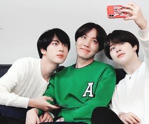 gif, seokjin, and bangtan image