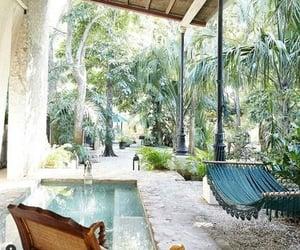 cozy, summer, and hammock image